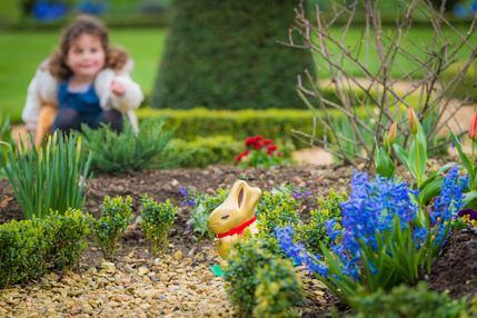 Easter Lindt Gold Bunny Hunt at Kensington Palace