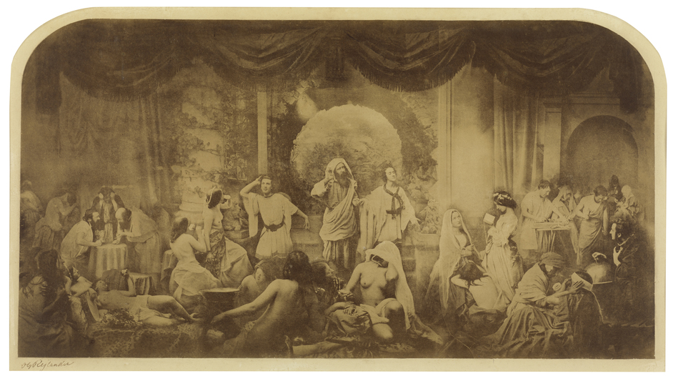 Victorian Giants: The Birth Of Art Photography - Two ways of Life by Oscar Rejlander, 1856-7