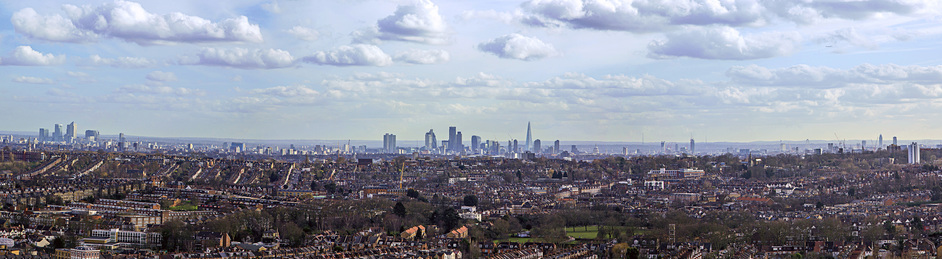 Kaleidoscope Festival - View from Alexandra Palace