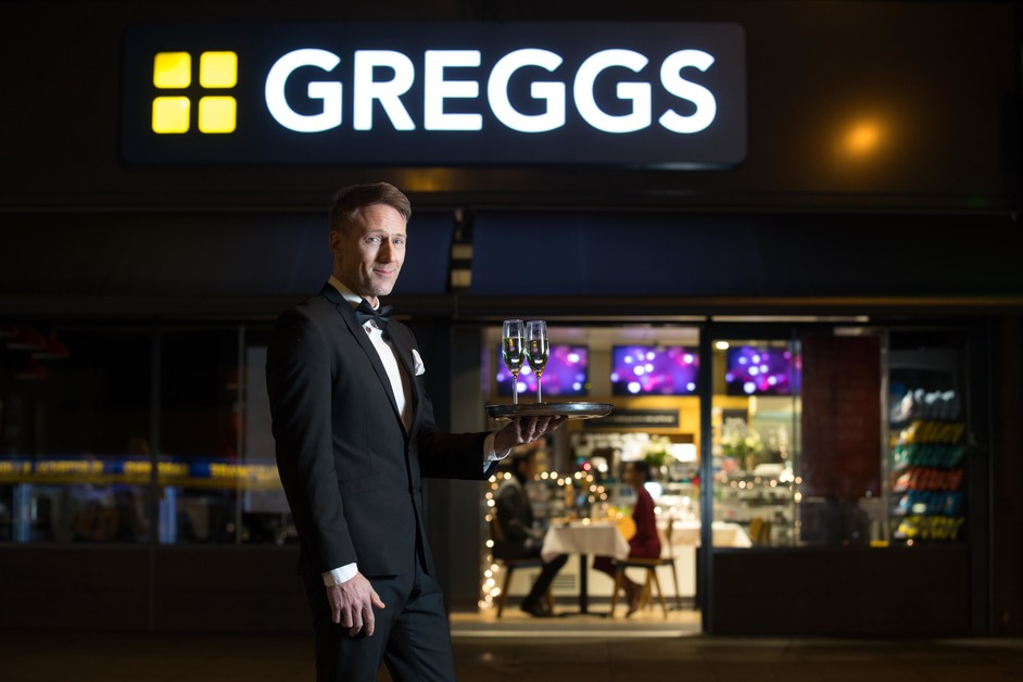 Valentine's Day at Greggs
