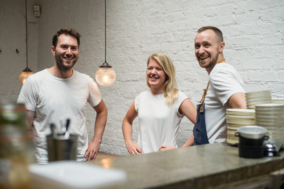 Rok Soho - Rok co-founders Charles Bakker, Frida Lindmark and Matt Young