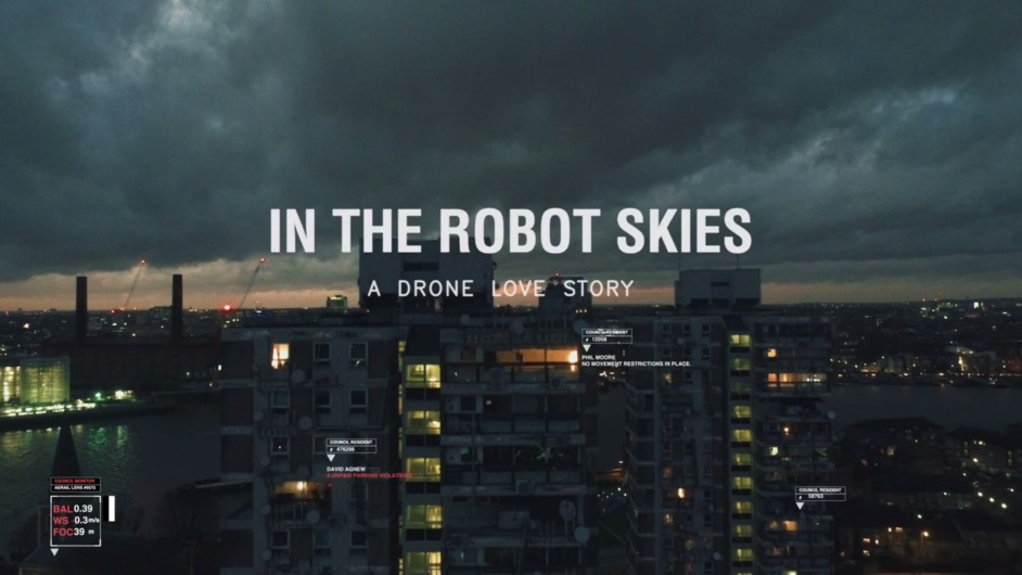 London Visions - In The Robot Skies, image: Directed by Liam Young. Written by Tim Maughan