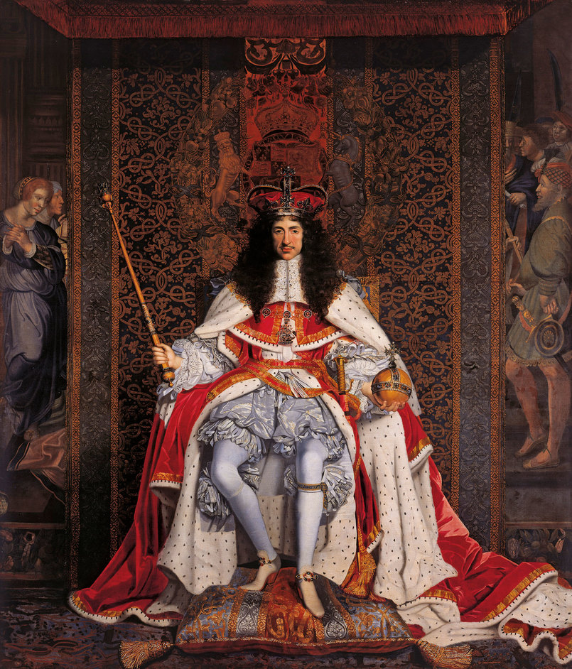 Charles II: Art & Power - John Michael Wright, Charles II, c.1676, Royal Collection Trust (c) Her Majesty Queen Elizabeth II 2017