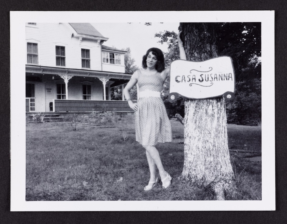 Another Kind Of Life: Photography On The Margins - Casa Susanna Collection Attributed to Andrea Susan [Susanna at Casa Susanna], 1964-1969 © Art Gallery of Ontario