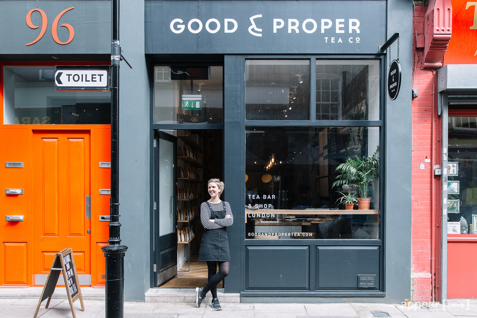Good & Proper Tea Leather Lane