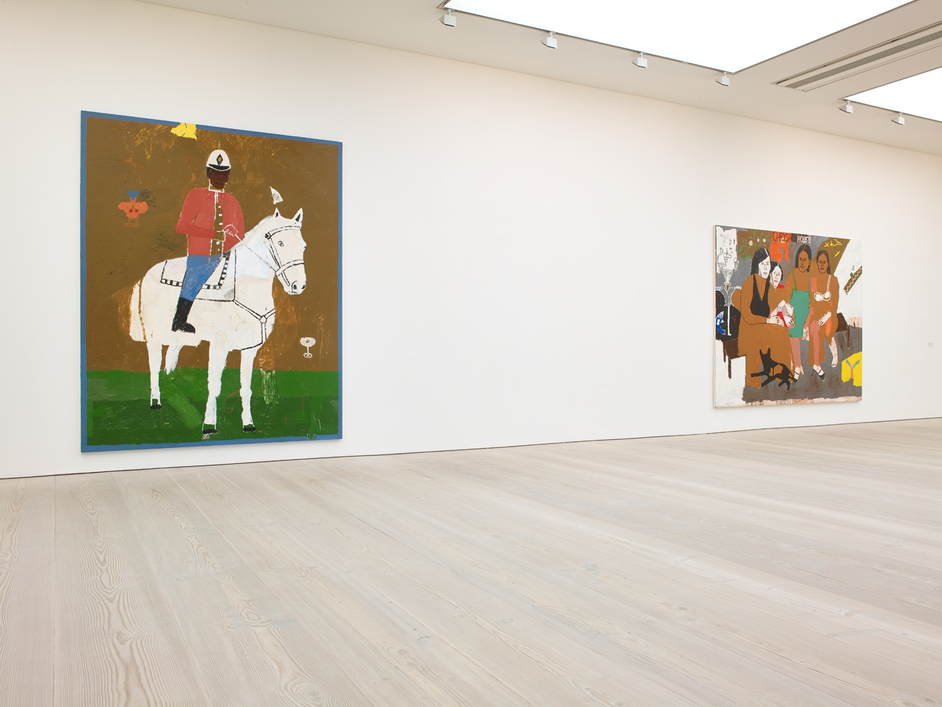Iconoclasts: Art Out of the Mainstream - Iconoclasts, installation image showing the works of Danny Fox, image: Saatchi Gallery
