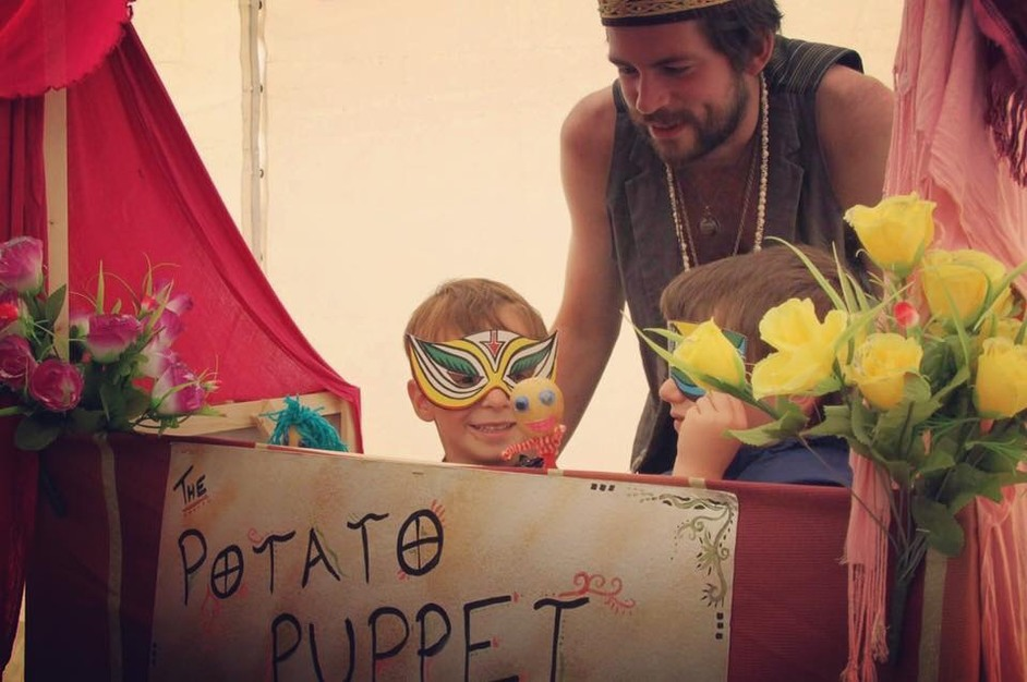 The Potato Puppet Playground