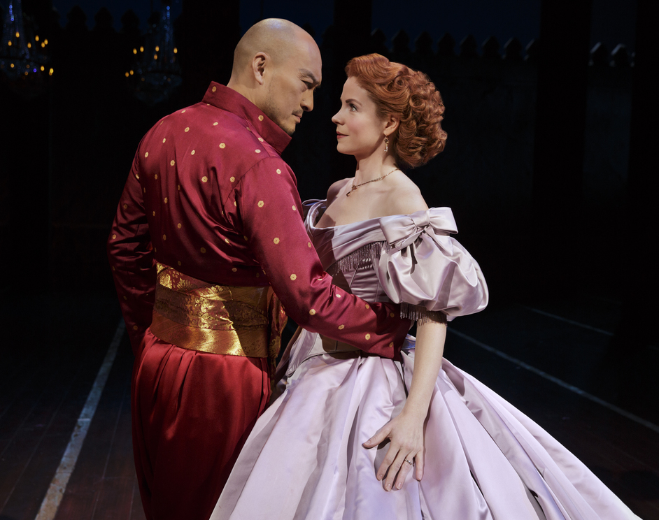 The King & I - Ken Watanabe and Kelli O'Hara, photo: Paul Kolnik