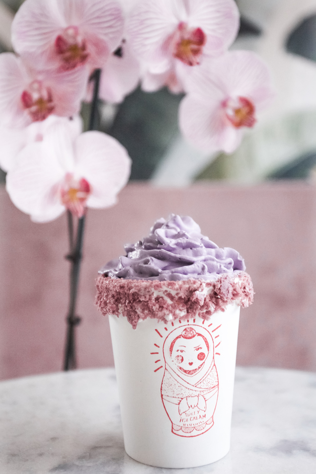Mamasons Dirty Ice Cream - Ube coco