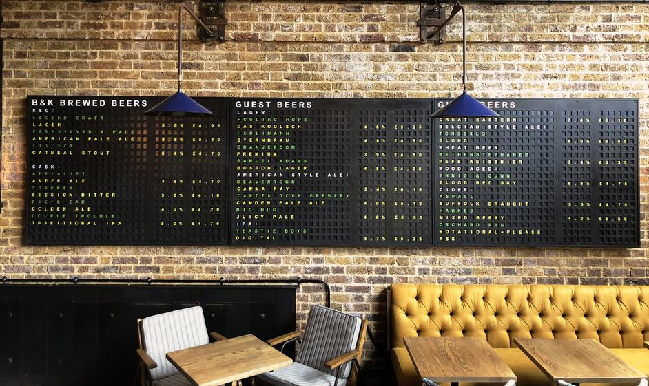 Brewhouse & Kitchen Hoxton
