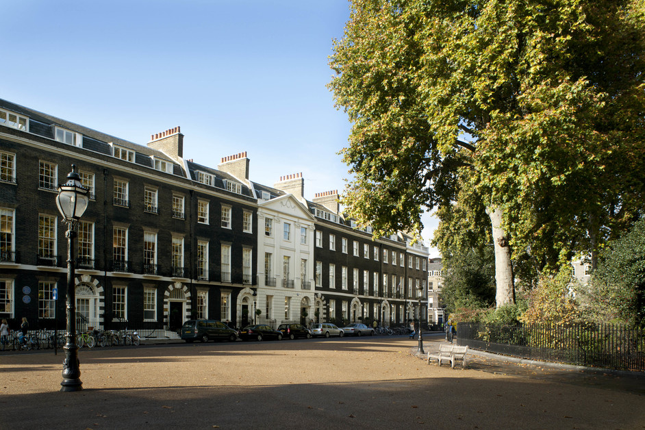 Bedford Square Gardens - Bedford Square, image courtesy of Sotheby's Institute of Art