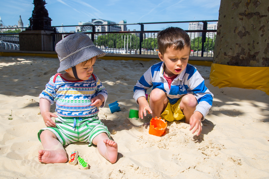 Southbank Centre Beach - photo: Southbank Centre / Pete Woodhead