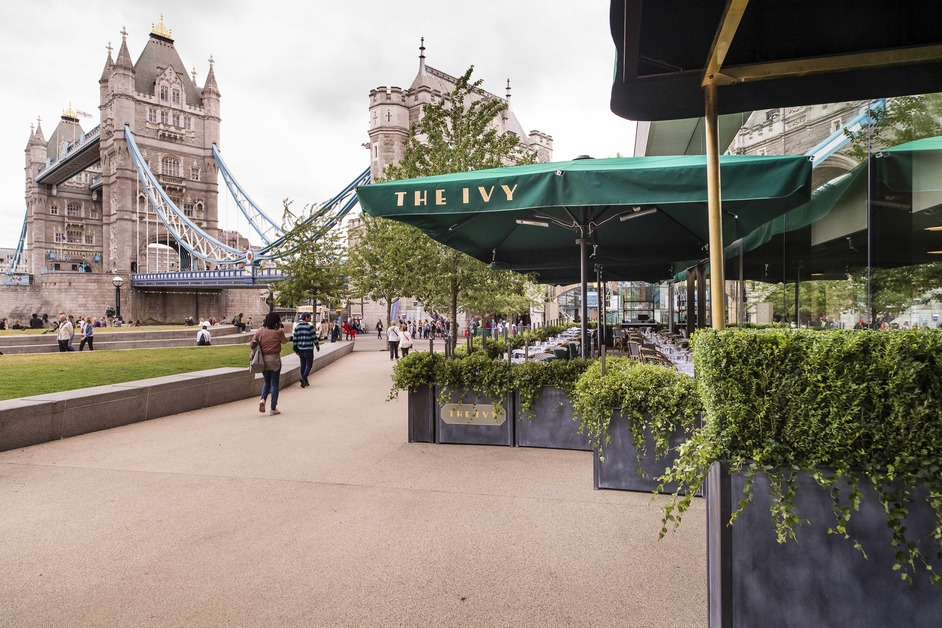 The Ivy Tower Bridge and Thames Rockets