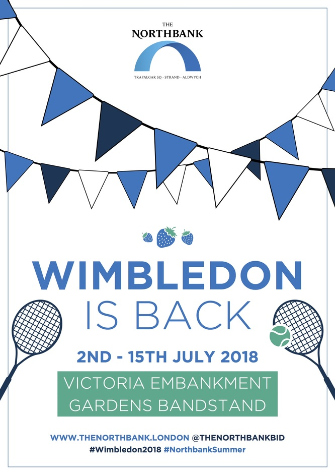 Wimbledon in Victoria Embankment Gardens
