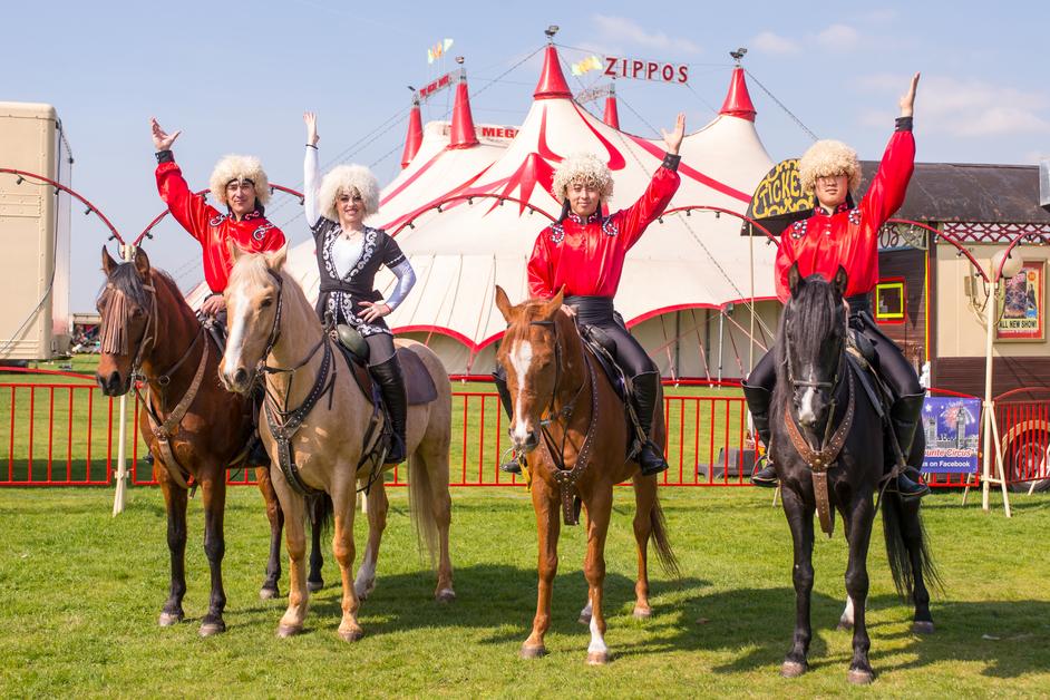 Zippos Circus: Legacy - Khadikov Cossack Riders - Zippos Circus 2017. Photo: Piet-Hein Out