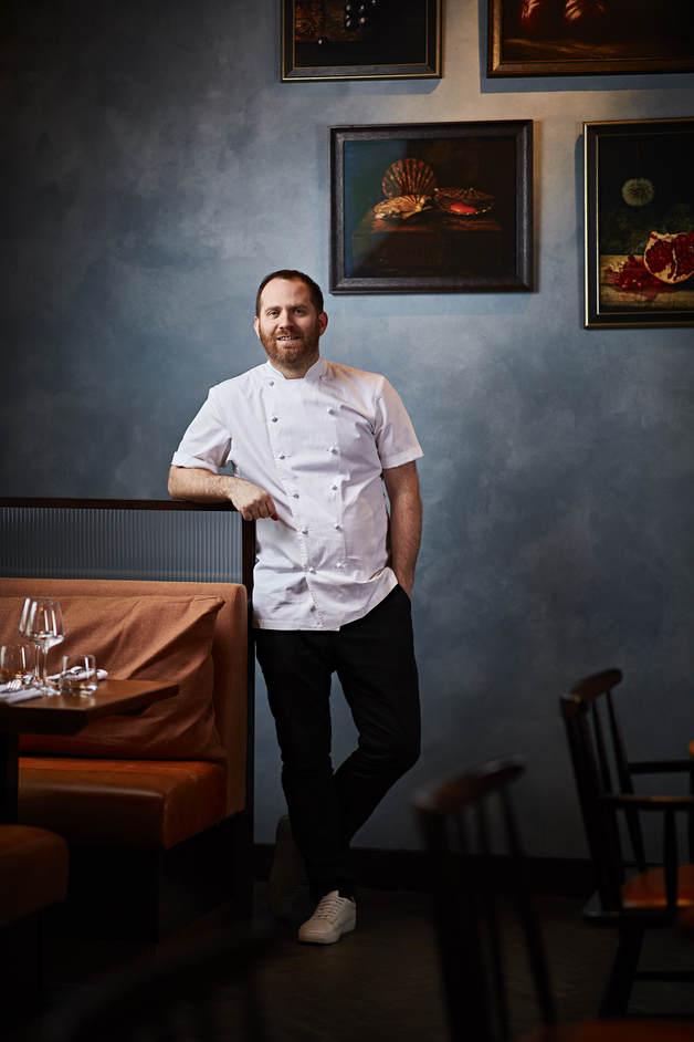 Bryn Williams at Somerset House - Chef Bryn Williams at Somerset House, photo: Steven Joyce