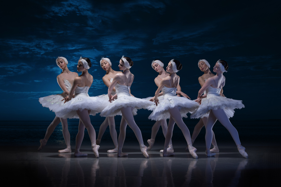English National Ballet: My First Ballet: Swan Lake - English National Ballet School students in My First Ballet Swan Lake © Photography by ASH