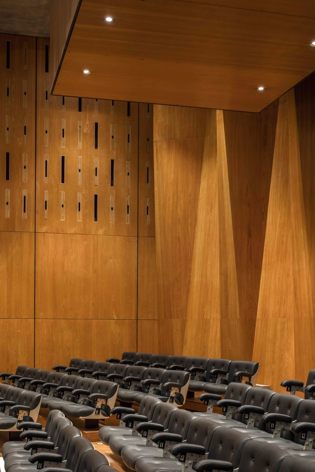 Southbank Centre: Purcell Room - Detail of Purcell Room. Photo: Morley Von Sternberg