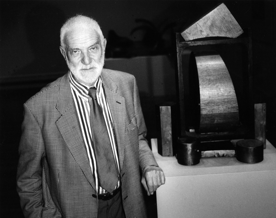Faces of Sculpture - Sir Anthony Caro, 1998, © Anne Purkiss