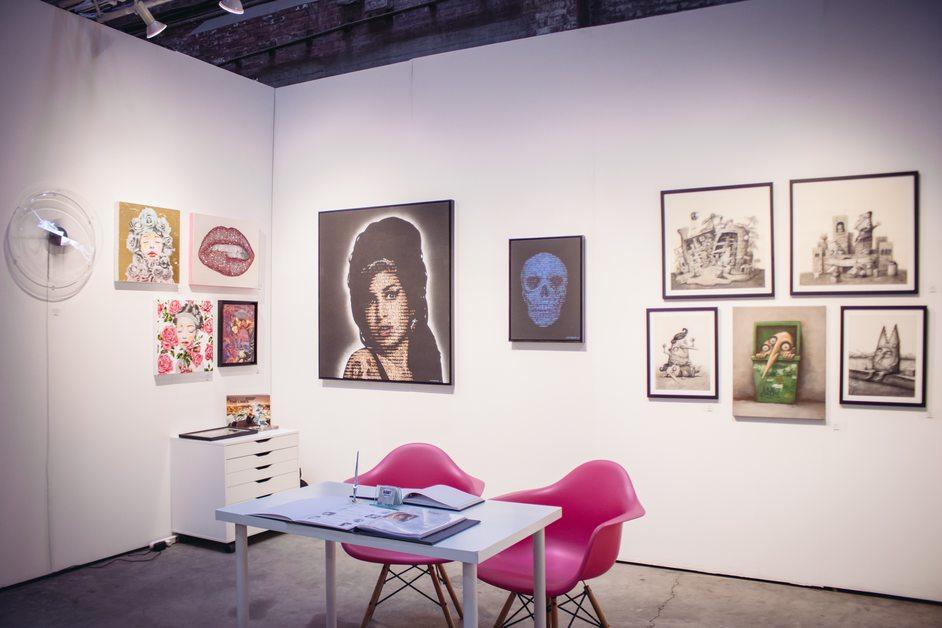 Moniker Art Fair - Photo by Kevin Takagi