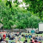 Fantastic Feats of Cinema: Pop Up Screens: Guildhall Yard