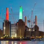 Battersea Power Station: Light Up Winter