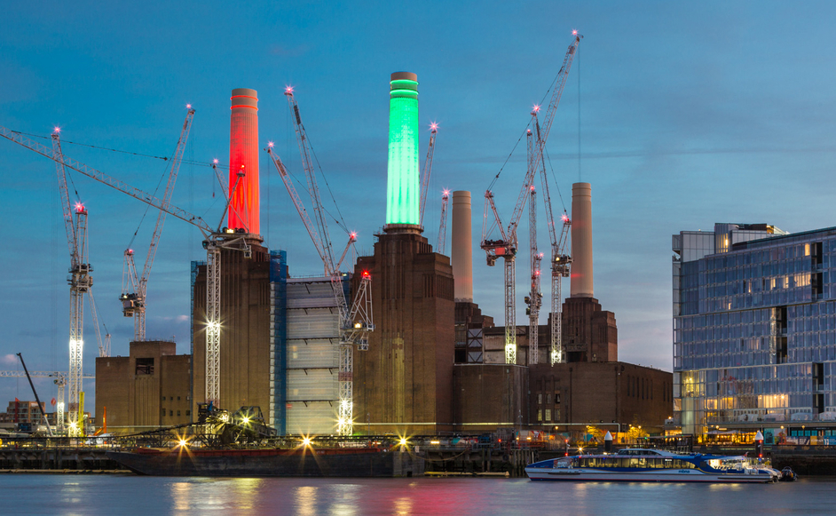 Battersea Power Station: Light Up Winter - Photo: Johnny Stephens Photography