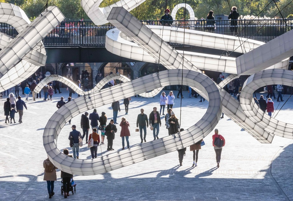 Coal Drops Yard: Space Frames - photo: John Sturrock