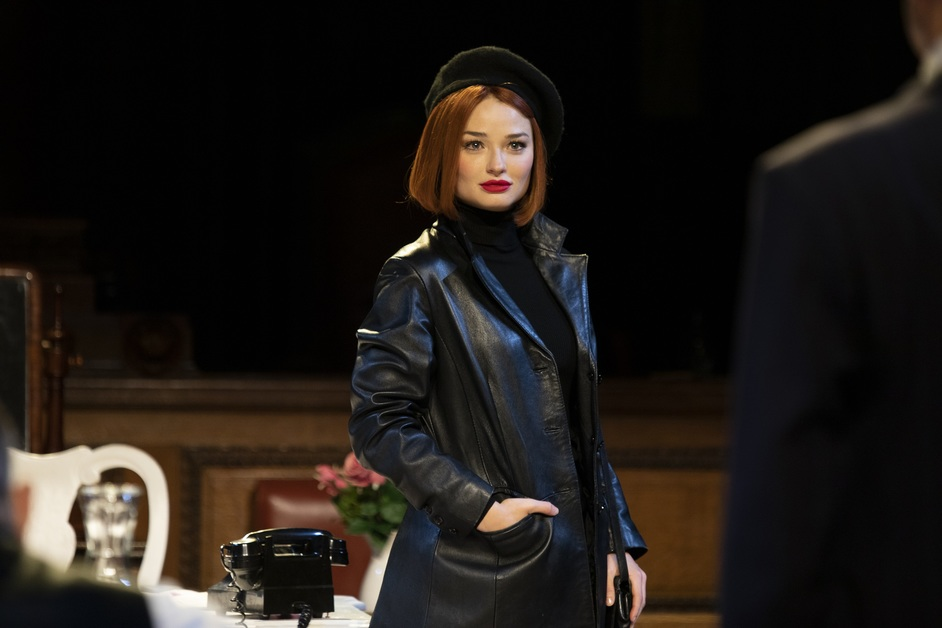Witness For The Prosecution - Emma Rigby as Romaine Vole, photo: Ellie Kurttz