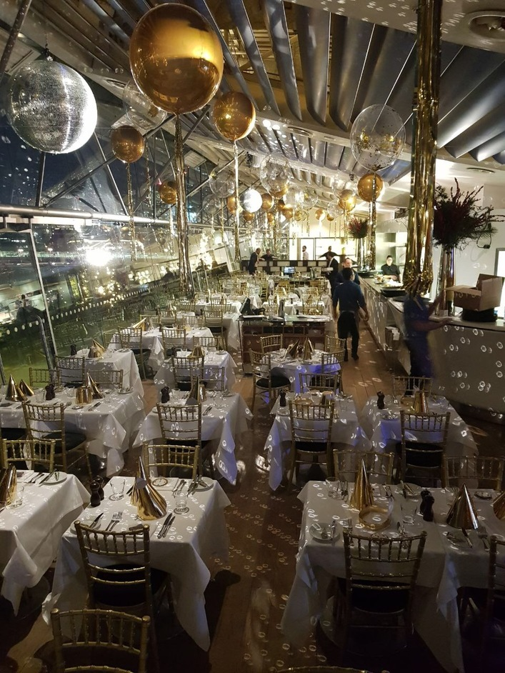 New Year's Eve at the Oxo Tower