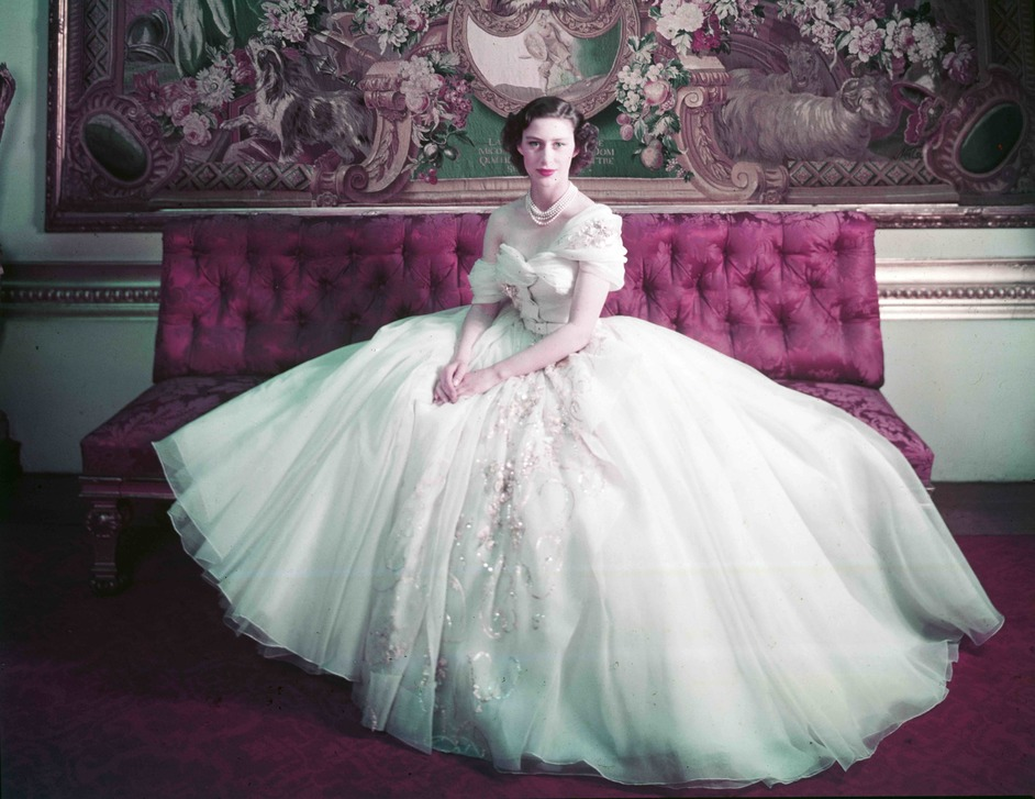 Christian Dior: Designer of Dreams - Royal Portrait of Princess Margaret on her 21st birthday. Photograph by Cecil Beaton (1904?1980) © Victoria and Albert Museum, London