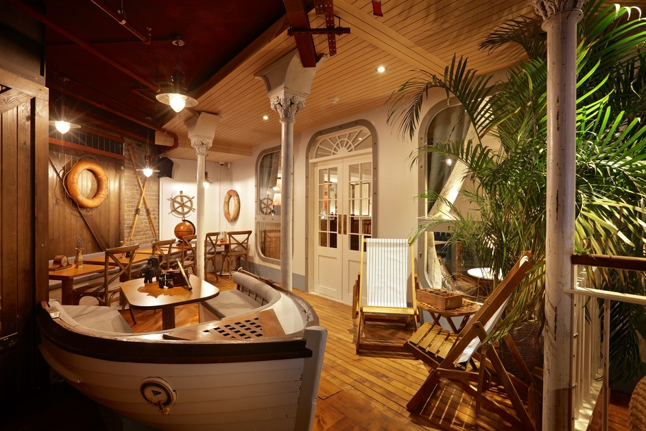 Mrs Fogg's Maritime Club and Distillery - photo: Johnny Stephens Photography
