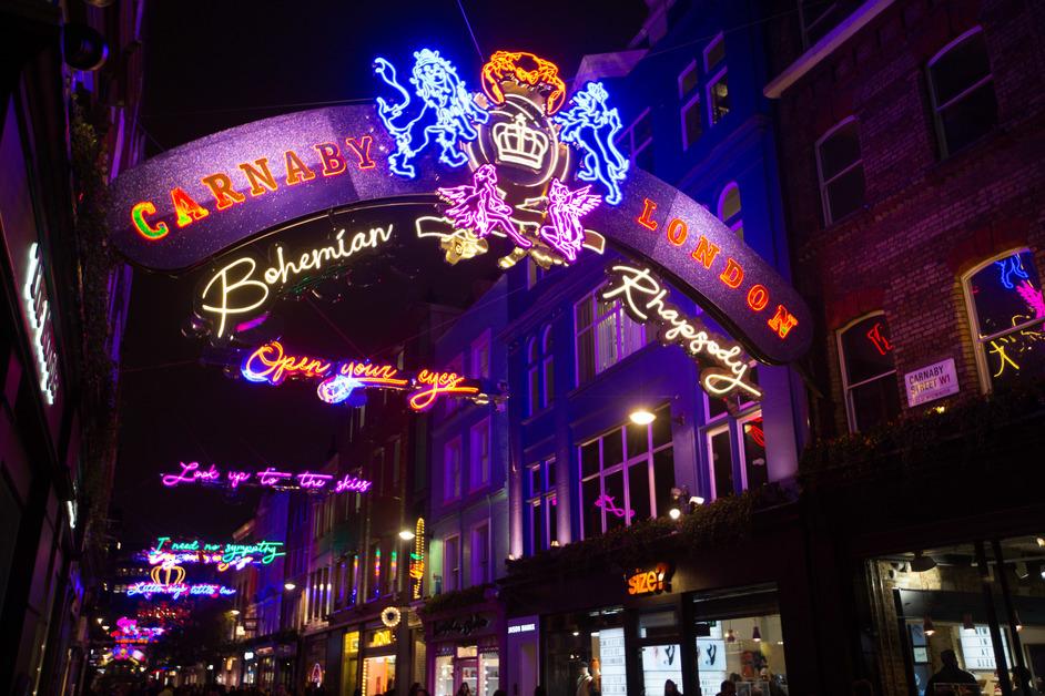 Bohemian Rhapsody Light Installation