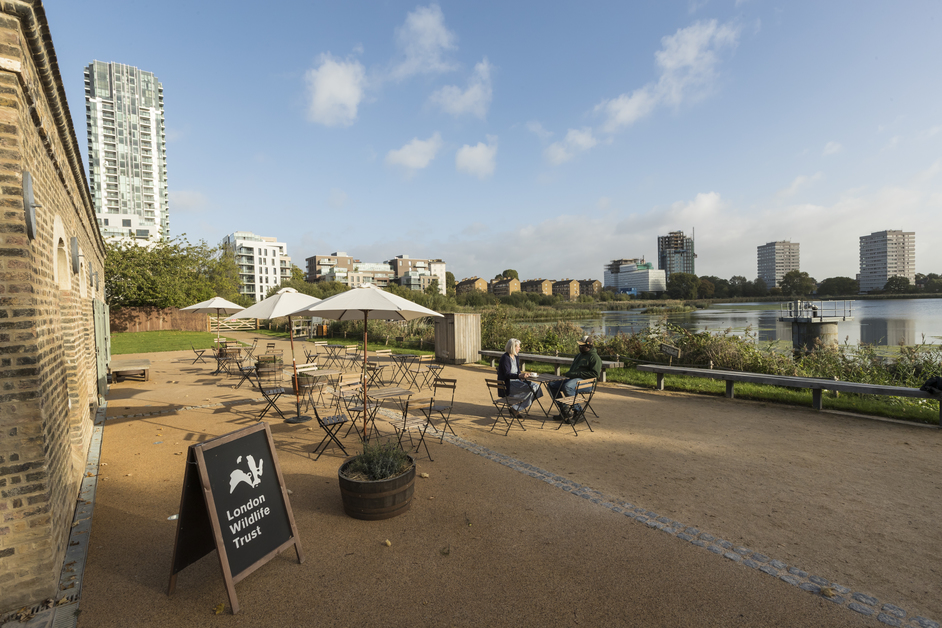 Woodberry Wetlands - Coal House Cafe, Woodberry Wetlands, photo © Penny Dixie