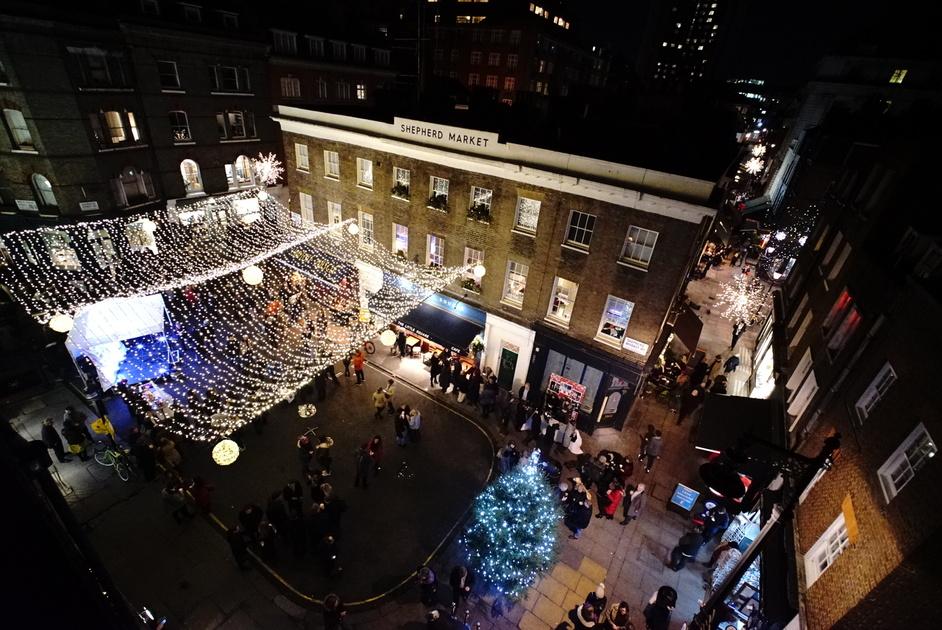 Shepherd Market Christmas Lights