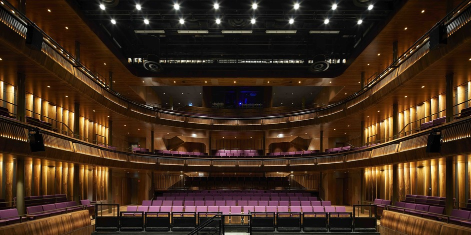 Royal Opera House - The Royal Opera House's Linbury Theatre, redesigned 2018, photo ©Hufton Crow