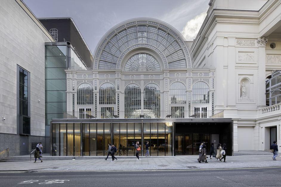 Royal Opera House - Royal Opera House, exterior (c) ROH, photo: Luke Hayes.