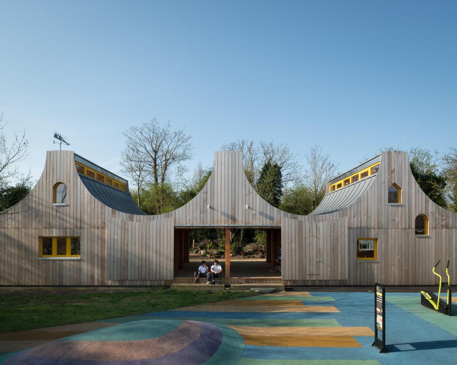 Open House London - Belvue Woodland Primary, Northolt, Middlesex, photo: Jim Stevenson