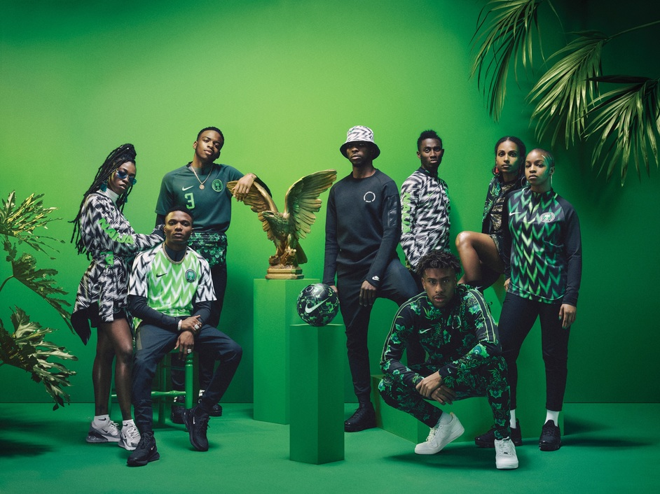 Beazley Designs Of The Year - Nigeria National Football Team, Nike
