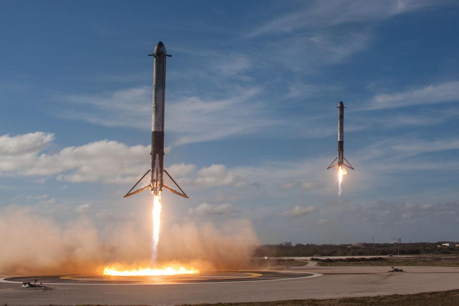 Beazley Designs Of The Year - Falcon Heavy, Elon Musk