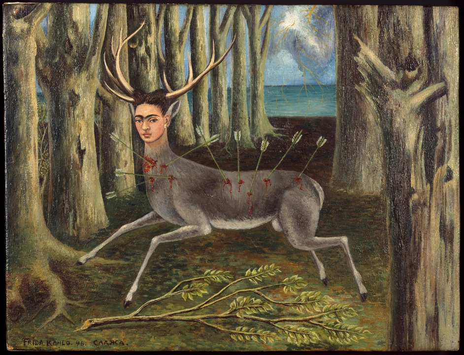 Modern Couples: Art, Intimacy And The Avant-Garde - Frida Kahlo, Le Venadita (little deer), 1946. Private Collection. Photo: Nathan Keay © MCA Chicago
