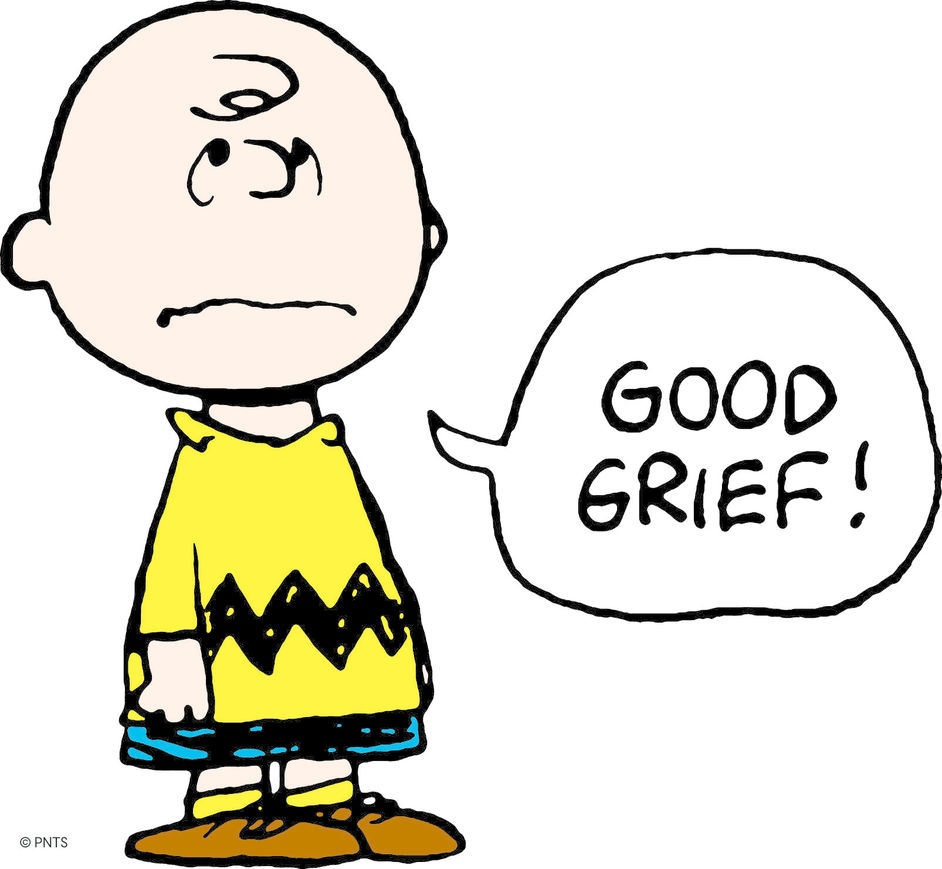Good Grief, Charlie Brown! Celebrating Snoopy And The Enduring Power Of Peanuts - Charlie Brown Good Grief © Peanuts