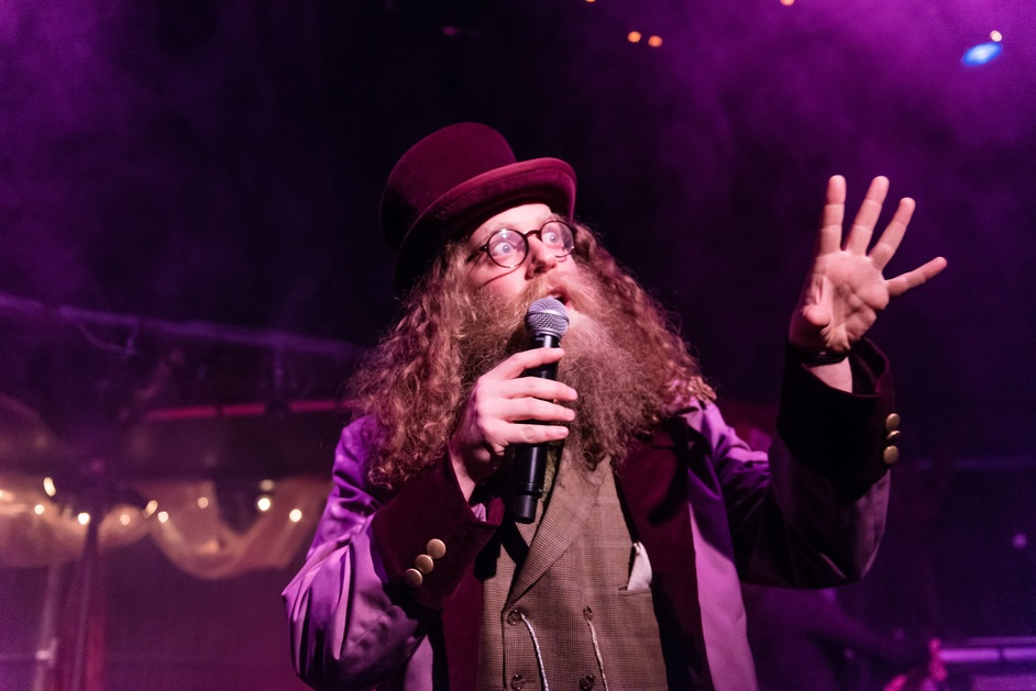 Old Stock: A Refugee Love Story - Ben Caplan in Old Stock, photo: Stoo Metz Photography