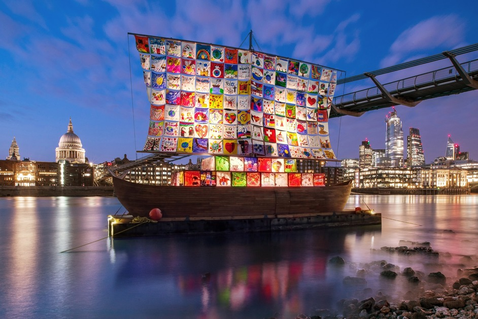 The Ship Of Tolerance - Ship of Tolerance by Ilya & Emilia Kabakov Totally Thames 2019