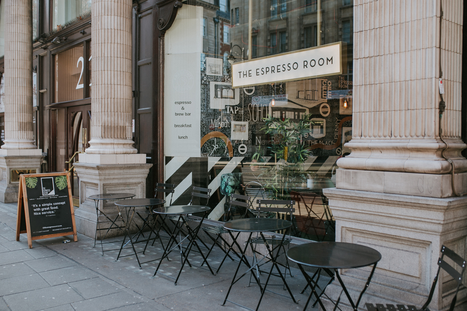 The Espresso Room, Bloomsbury