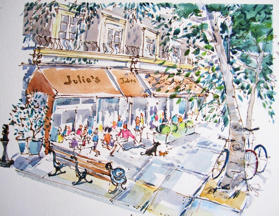 Julie's Restaurant & Champagne Bar