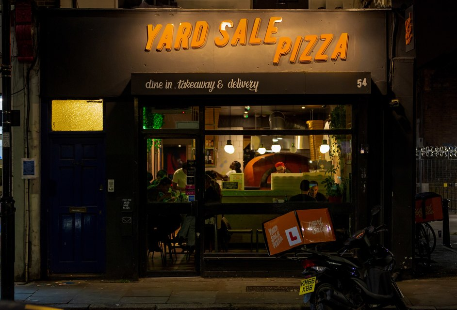 Yard Sale Pizza Finsbury Park