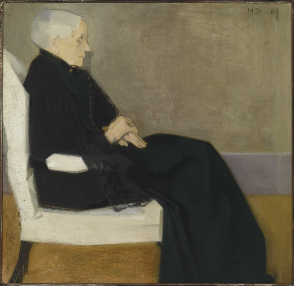 Helene Schjerfbeck - Helene Schjerfbeck, My Mother, 1909. Photo: Finnish National Gallery / Yehia Eweis