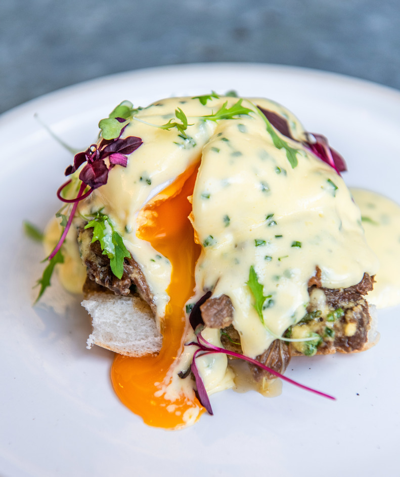 London Brunch Fest - The Farmer's Mistress - FM Benedict. Photo: Nic Crilly-Hargrave