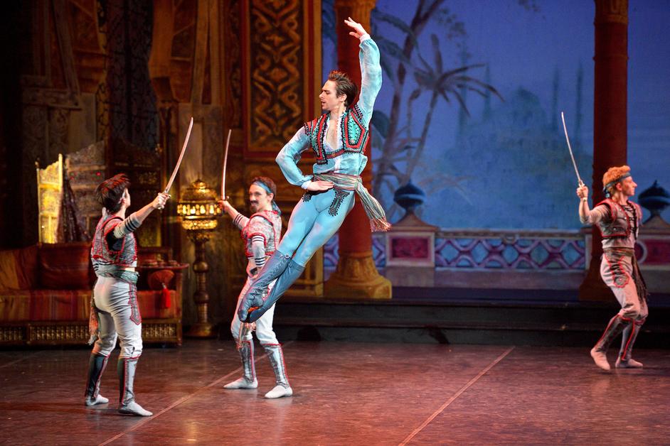 English National Ballet: Le Corsaire - Francesco Gabriele Frola as Conrad in ENB's Le Corsaire